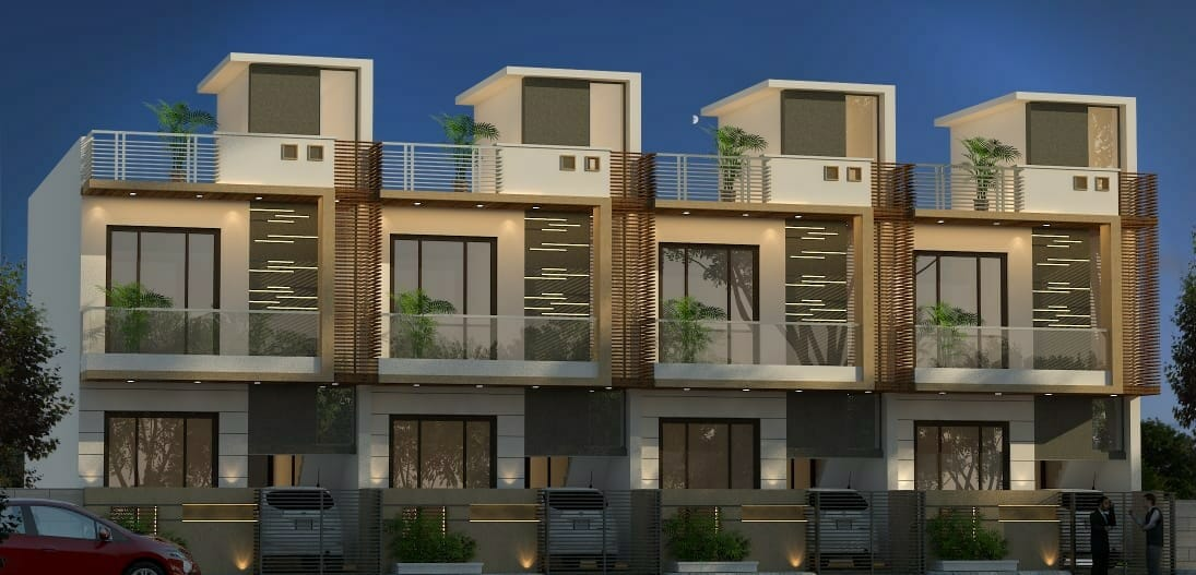 4 Bhk Park Facing Villa for Sale Near Akshaya Patra, Jagatpura, Jaipur