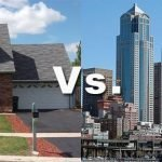 Residential versus commercial spaces