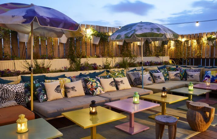 Rooftop Cafe / Restaurant Space for Rent in C-Scheme Jaipur