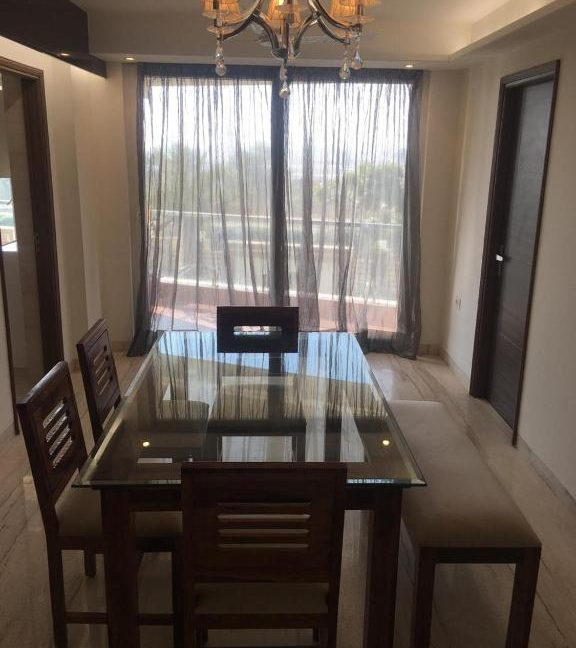 flats for sale near airport jaipur - dining room