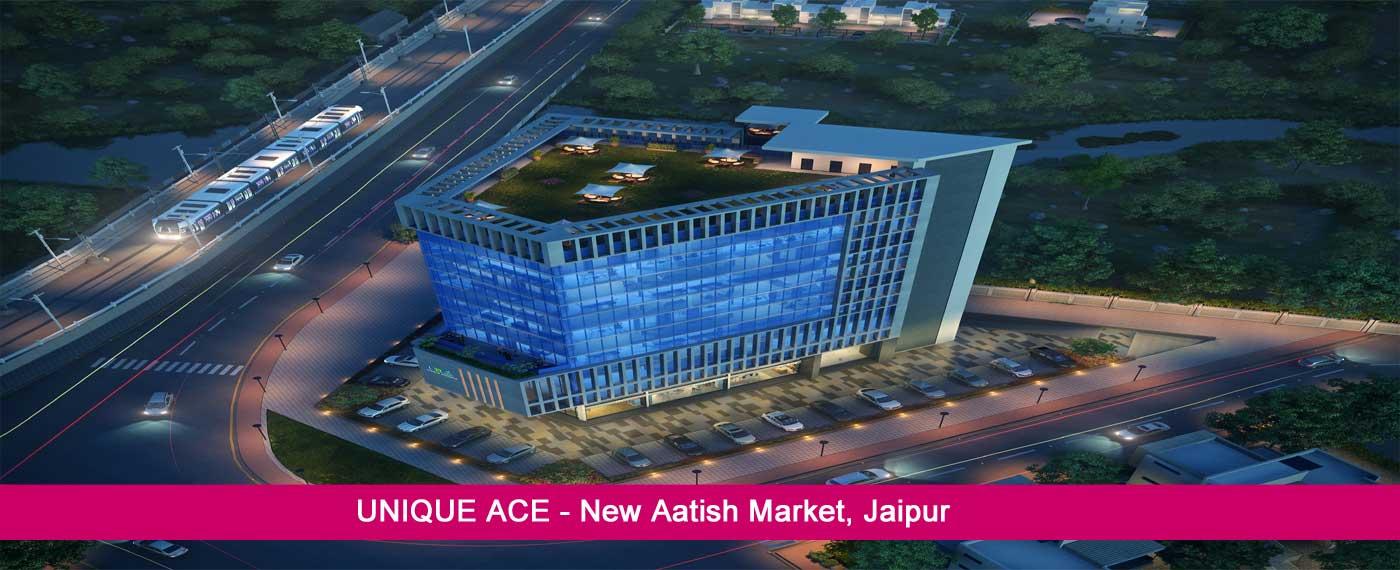Unique Ace Jaipur – Commercial Offices